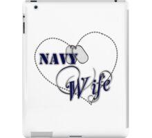 Navy Wife iPad Case/Skin