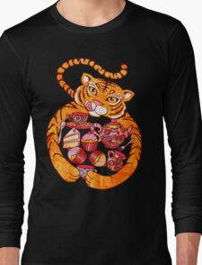 The Tiger Who Came To Tee Long Sleeve T-Shirt