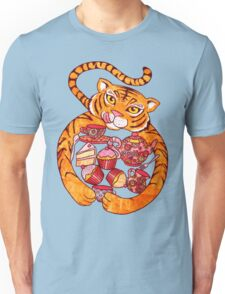 The Tiger Who Came To Tee Unisex T-Shirt