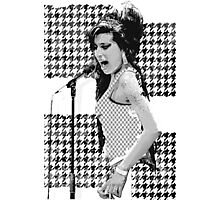 Amy Winehouse in London Photographic Print