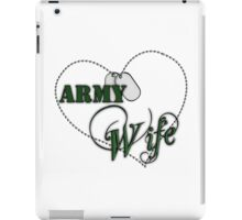 Army Wife iPad Case/Skin