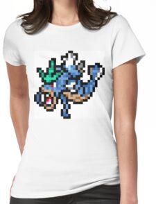 Pokemon 8-Bit Pixel Gyarados 130 Womens Fitted T-Shirt