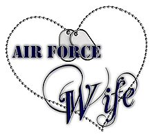 Air Force Wife Photographic Print