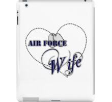 Air Force Wife iPad Case/Skin