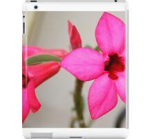 Twin Pink Tropical Floras  iPad Case/Skin