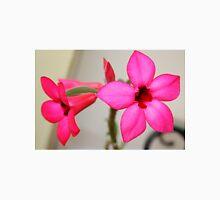 Twin Pink Tropical Floras  Unisex T-Shirt