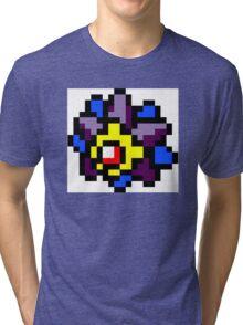Pokemon 8-Bit Pixel Starmie 121 Tri-blend T-Shirt