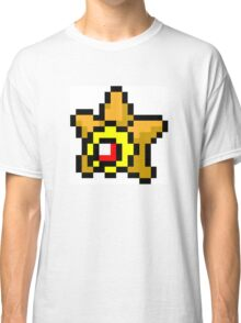 Pokemon 8-Bit Pixel Staryu 120 Classic T-Shirt