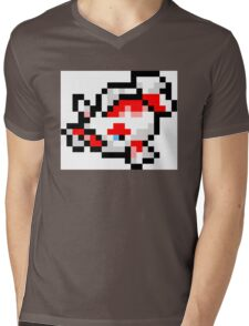 Pokemon 8-Bit Pixel Goldeen 118 Mens V-Neck T-Shirt