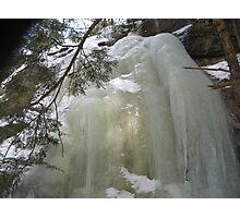 The Big Big Ice Top 4 Photographic Print