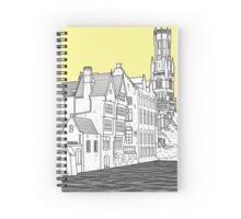 Bruges Spiral Notebook