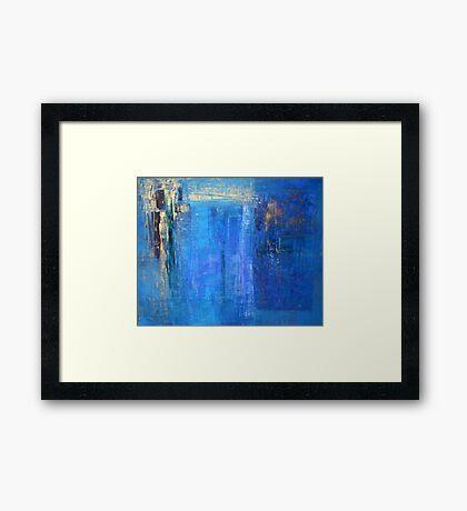 Blue 12 Framed Print
