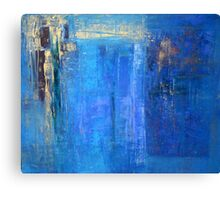 Blue 12 Canvas Print