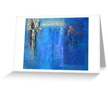 Blue 12 Greeting Card