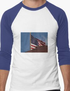 Old Glory... Men's Baseball ¾ T-Shirt