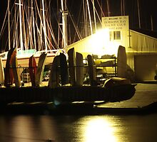 Sleeping Boats, Williamstown by Penny Lewis