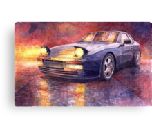 Porsche 944 Turbo 1987 Canvas Print