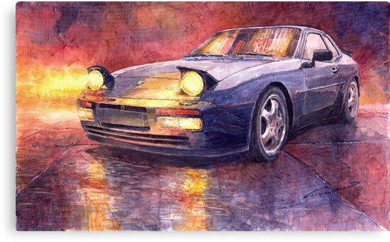 Porsche 944 Turbo 1987 by Yuriy Shevchuk