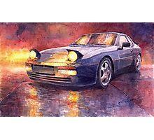 Porsche 944 Turbo 1987 Photographic Print