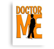 10th Doctor Me! Canvas Print