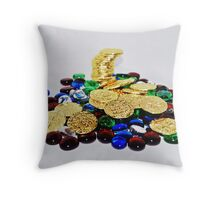 Treasure of pirates Throw Pillow