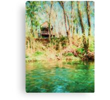 Lake Hideaway - Landscape Canvas Print
