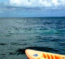 Punta Cana Kayak Sticker