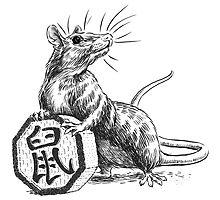 Chinese Zodiac - The Rat by Stephanie Smith