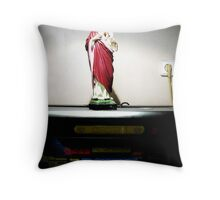 double power super Throw Pillow