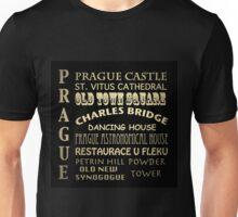 Prague Famous Landmarks Unisex T-Shirt
