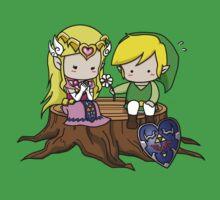 Zelda X Link Kids Tee