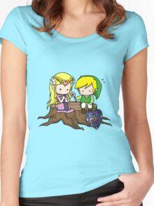 Zelda X Link Women's Fitted Scoop T-Shirt