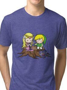 Zelda X Link Tri-blend T-Shirt