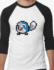 Pokemon 8-Bit Pixel Poliwag 060 Men's Baseball ¾ T-Shirt