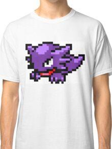 Pokemon 8-Bit Pixel Haunter 093 Classic T-Shirt