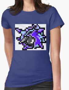 Pokemon 8-Bit Pixel Cloyster 091 Womens Fitted T-Shirt