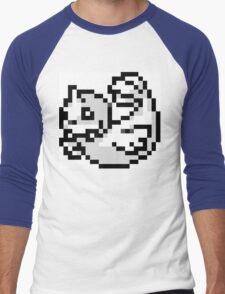 Pokemon 8-Bit Pixel Dewgong 087 Men's Baseball ¾ T-Shirt
