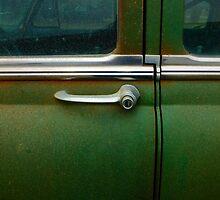 Door Handle of the Bel Air by WildestArt