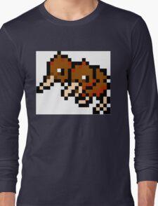 Pokemon 8-Bit Pixel Doduo 084 Long Sleeve T-Shirt