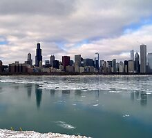 Chicago Skyline by Brian Gaynor