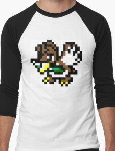 Pokemon 8-Bit Pixel Farfetch'd 083 Men's Baseball ¾ T-Shirt
