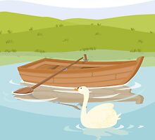 ROWBOAT (AQUATIC VEHICLE) by alapapaju
