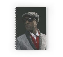 Aloe Blacc Spiral Notebook