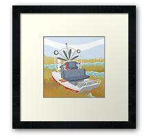 AIRBOAT (AQUATIC VEHICLE) Framed Print
