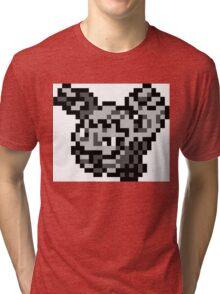 Pokemon 8-Bit Pixel Graveler 075 Tri-blend T-Shirt