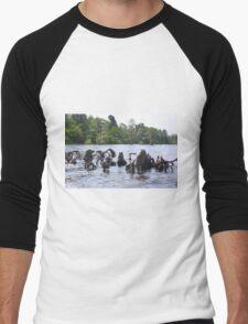 Mother Earth Men's Baseball ¾ T-Shirt
