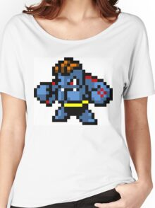 Pokemon 8-Bit Pixel Machoke 067 Women's Relaxed Fit T-Shirt