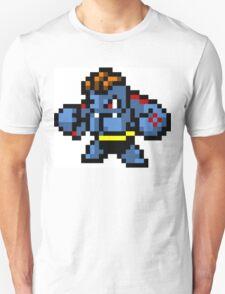 Pokemon 8-Bit Pixel Machoke 067 Unisex T-Shirt