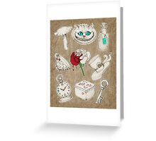 Wear To Wonderland Greeting Card