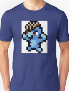 Pokemon 8-Bit Pixel Machop 066 Unisex T-Shirt